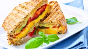 Cheese & Vegetable Sandwich
